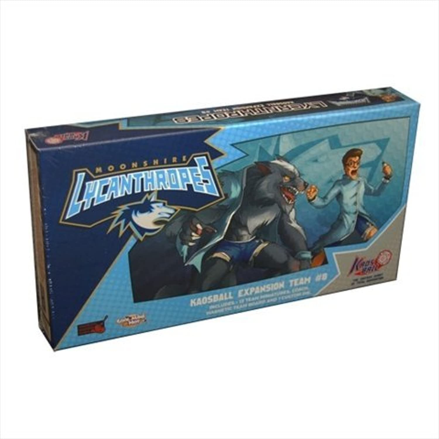 Kaosball Team Moonshire Lycanthropes Expansion Board Game