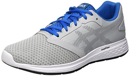Asics Patriot 10 Zapatillas de Running Hombre, Gris (Mid Grey/Race Blue 020), 41.5 EU
