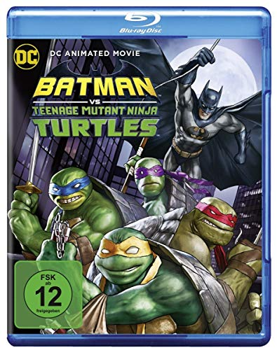 Batman/Teenage Mutant Ninja Turtles [Alemania] [Blu-ray]