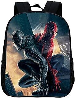 041b667d6e Mode 12 Pouces Impression Cool Hero Spiderman Enfants Sacs D'École Bande  Dessinée Bébé Garçons