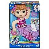 BABY Alive - Sirène Scintillante 'Splash' (Cheveux Roux) - Splish, Splash et jouez Toute la journée.