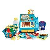 Caixa Registradora Creative Fun com Acessórios, Alimentação por 2 Pilhas AA Indicado para +4 Anos Azul Multikids - BR386
