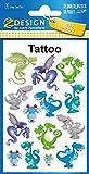 Avery Zweckform Tatuajes 76x 120mm Multicolor 1BG, diseño de dragón