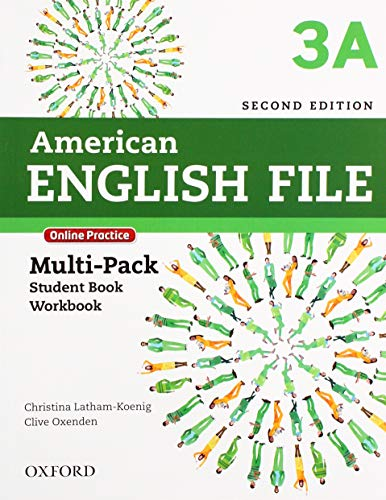 American English File 3A Multipack With Online Practice and Ichecker - 2Nd Ed.