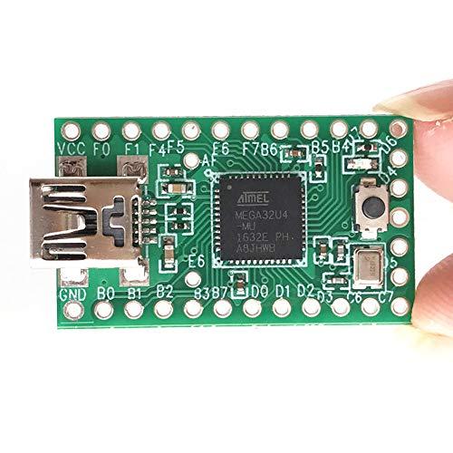 2.0 USB-Entwicklungsboard, Single Pushbutton-Programmierung, 2.0 AVR-Tastatur, USB-Emulation für jedes Gerät(30.5x17.8 mm)
