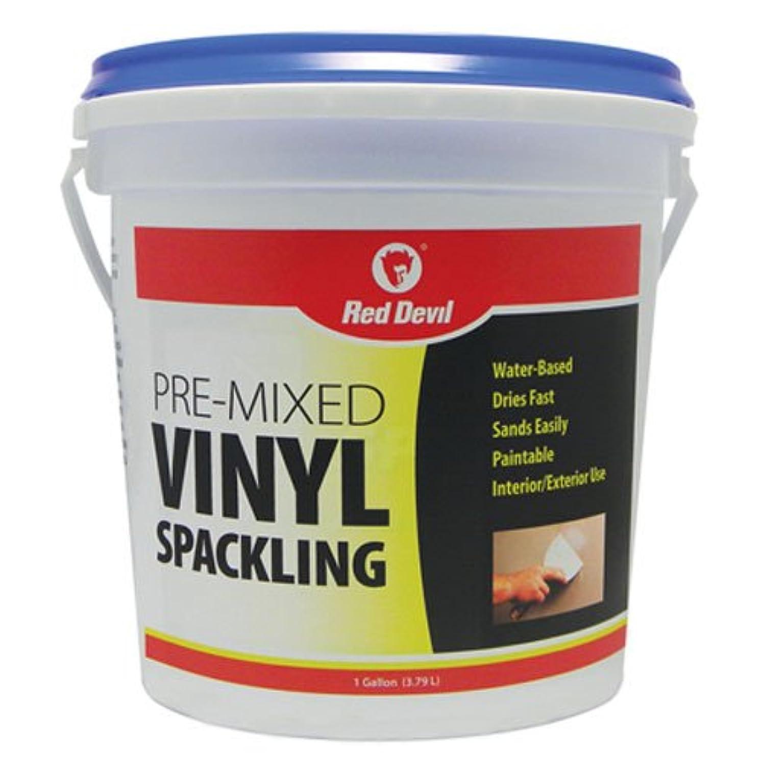 Red Devil 0531 1-Gallon Pre-Mixed Vinyl Spackling, White