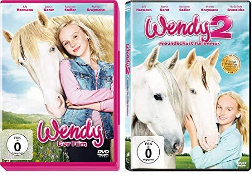 Wendy - 1 (der Film) + 2 (Freundschaft für immer) im Set - Deutsche Originalware [2 DVDs]