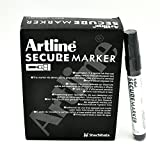 Artline Secure Marker 4.mm Chisel EKSC-4 (12 Pack)