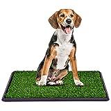 COSTWAY Lettiera per Cani WC Tappetino Toilette per Cuccioli con Erba, 51 X 76 cm (51 X 76cm)