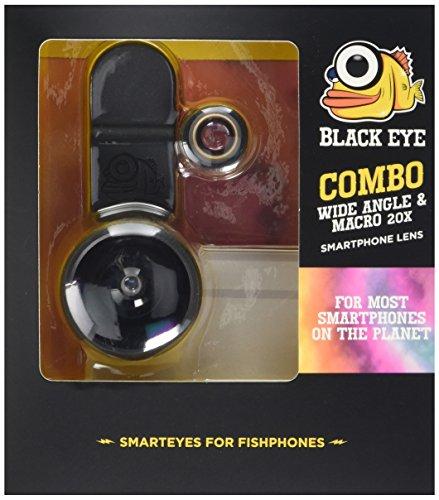 Black Eye Makro en groothoek-combinatie voor smartphone en tablet
