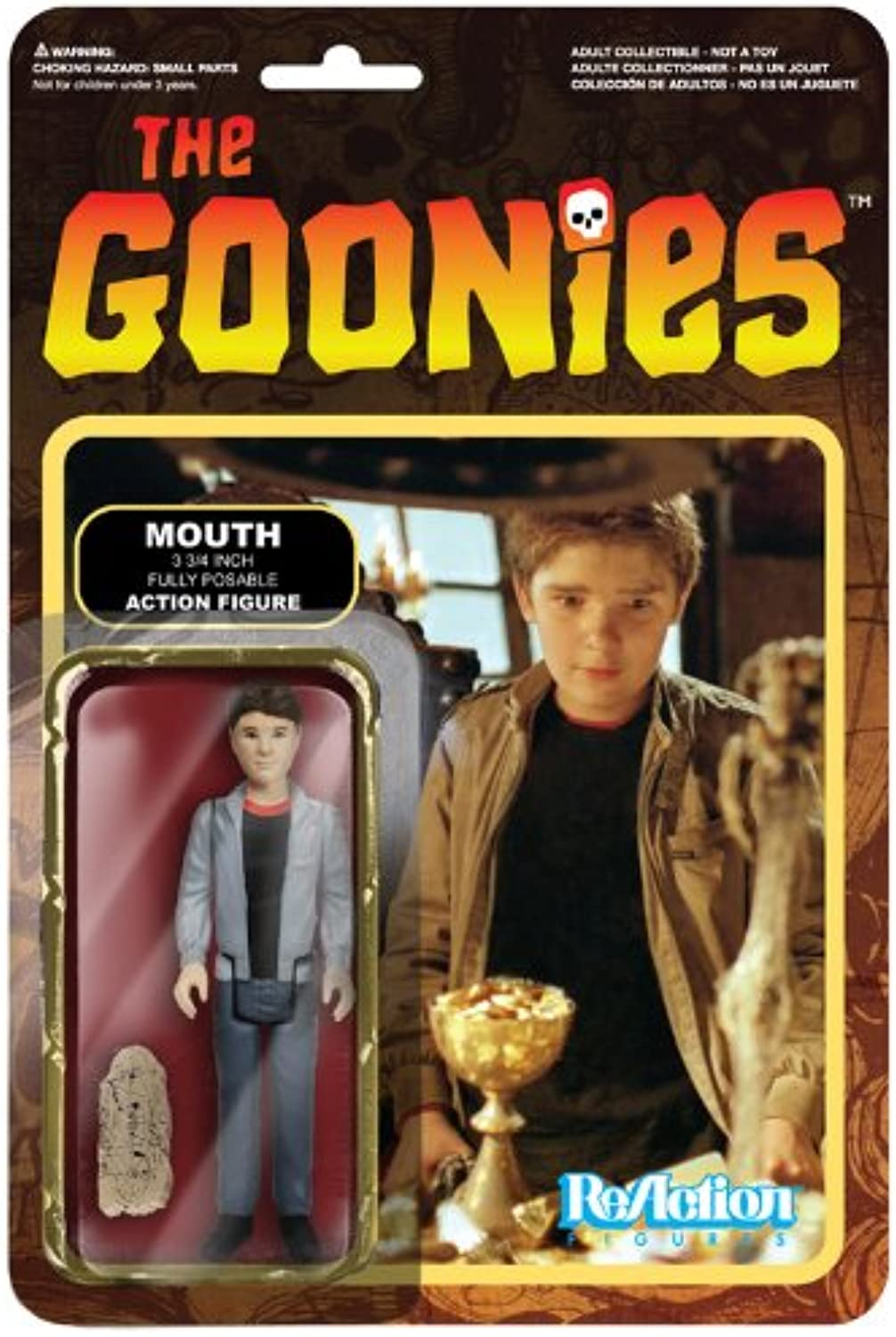 [Reaction] 3.75 inches Action Figure  The Goonies  Series 1 mouse