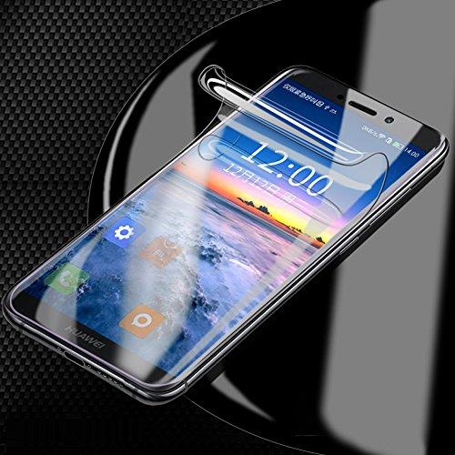 ONICOGEAR (Non di Vetro Temperato) per Huawei Mate 10 Pro Pellicola,TPU Originale Copertura Completa Trasparente Pellicola Protettiva per Huawei Mate 10 Pro(2 Pezzi)