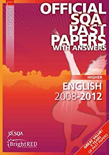 English Higher Sqa Past Papers 2012 (Official Sqa Past Papers with Answers)
