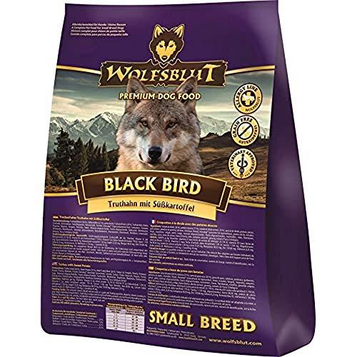 Wolfsblut | Black Bird Small Breed | 2 kg | Truthahn | Trockenfutter | Hundefutter | Getreidefrei