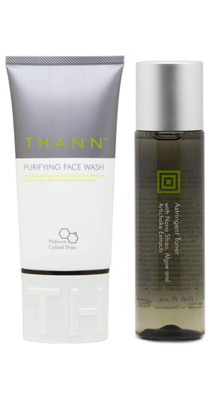 THANN Purifying Face Wash Inexpensive and Astringent New life A. Set Toner -