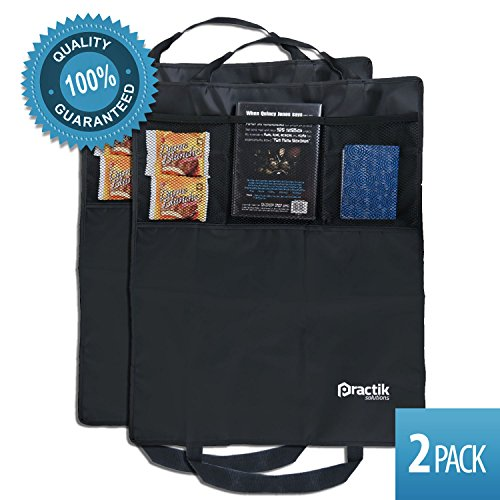 PRACTIK Kick Mats and Organizer, 18.5-Inch by 24-Inch, 2-Pack