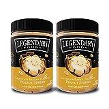 Legendary Foods Peanut Butter | Keto Diet Friendly, Low Carb, No Sugar Added, Vegan | Chocolate Banana (16oz Jar, Pack of 2)