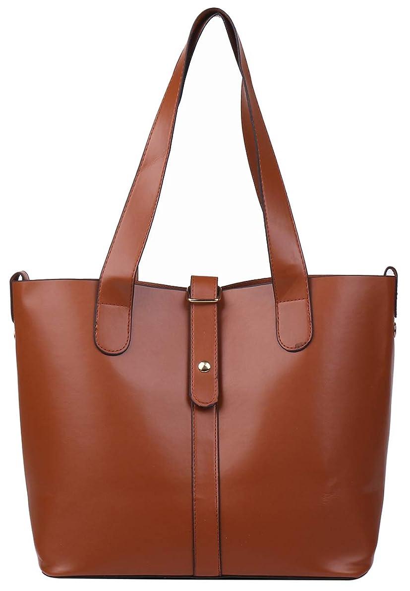 調停する瞑想的信頼[エンジェルムーン] レディース バッグ ショルダーバッグ ハンドバッグ 大きめ 肩掛け A4 シンプル ビジネス 通勤