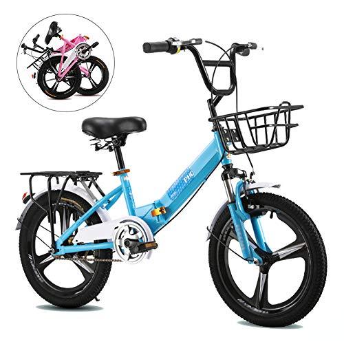 """Bicicleta plegable para niñas de 20"""" de Yrybz"""