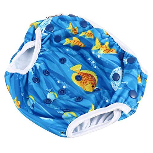 Générique 1Pc Bébé Formation Pantalon Bébé Pantalon De Natation Bébé Piscine Couches Bébé D'apprentissage Pantalon Bébé de Formation de Pot Sous-Vêtements Lavable Couches pour Infantile