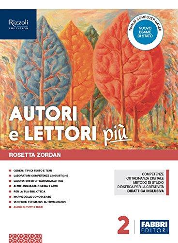 Autori e lettori più. Con Quaderno. Per la Scuola media. Con ebook. Con espansione online. Con DVD-ROM (Vol. 2)