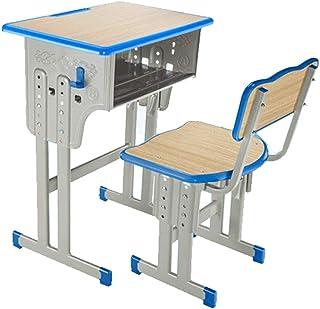 e12270032cb9 Escritorio para estudiantes Silla escolar Escritorio ajustable en altura  Escritorio para estudiantes, para niños Escritorio
