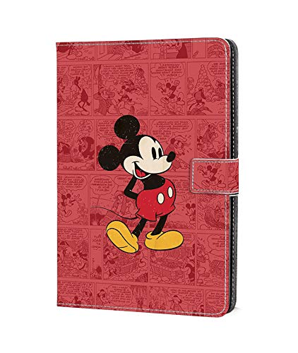 DC Faner Case for Amazon Fire HD 8, Kindle Fire HD 8 Case (2017/2016 Release,7th/6th Generation) Slim Leather Smart Case Cover with Auto Wake/Sleep for Fire HD 8 Tablet - Retro Mickey