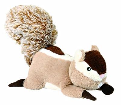 Plush Squeaky Squirrel Dog Toy (24 cm)