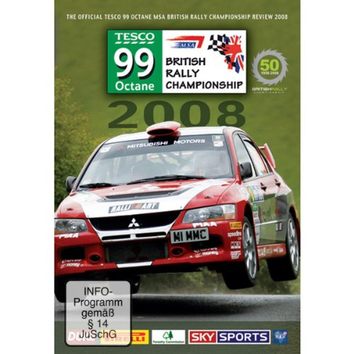 British Rally Championship Review 2008 [DVD]