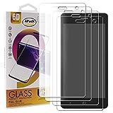Guran 4 Paquete Cristal Templado Protector de Pantalla para ZTE Blade L7 Smartphone 9H Dureza Anti-Ara?azos Alta Definicion Transparente Película