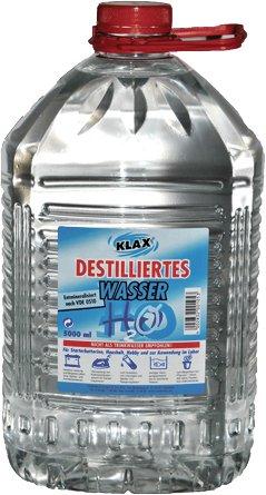 Klax 130043K - Bidón de Agua destilada (5 L)