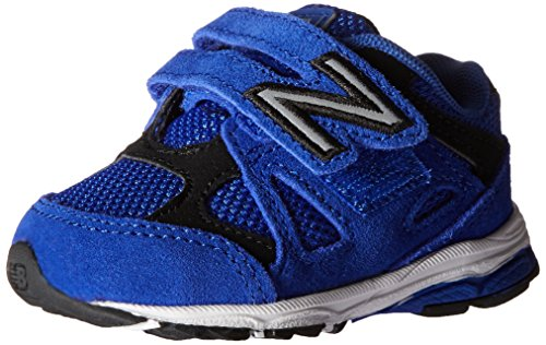 New Balance New Balance KV888V1 Infant Running Shoe (Infant/Toddler), Blue/Black, 18.5 W EU