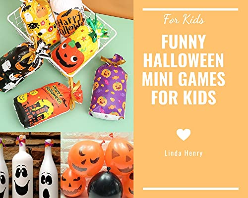 FOR KIDS: FUNNY HALLOWEEN MINI GAMES FOR KIDS (English Edition)