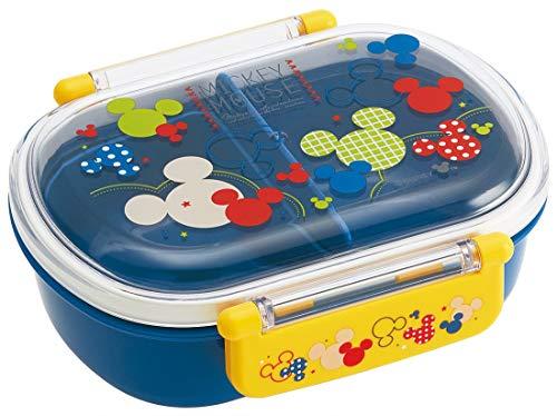 スケーター 子供用 弁当箱 360ml ミッキーマウス カラフルポップ ディズニー QAF2BA