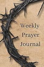 Weekly Prayer Journal