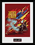 GB Eye Gerahmtes Poster Justice League Trio, diverse, 30 x