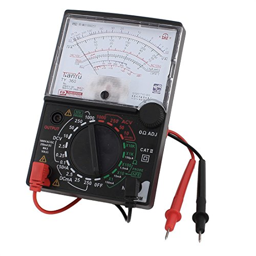 sourcing Map DC AC Spannung Aktuelle Widerstand Test analoges Messgerät Multimeter Multitest de