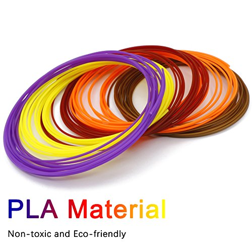 3D Stift Filament, Rusee 16 Farben 5M 3D Pen PLA Filament Ink Filament 1.75mm 3D Print Filament 3D Printing Pen Supplies 3D Stift Farben Set für 3D Stift, 3D Drucker, 3D Pen - 2