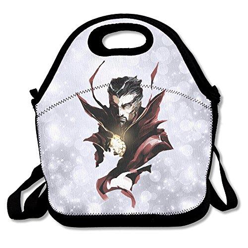 Ioh Doctor Strange Kühler Lunch Bag Outdoor Picknick Tasche, schwarz, Einheitsgröße
