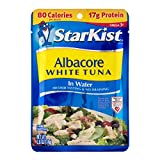 StarKist Albacore White Tuna in Water - 2.6 oz Pouch (Pack of 24)