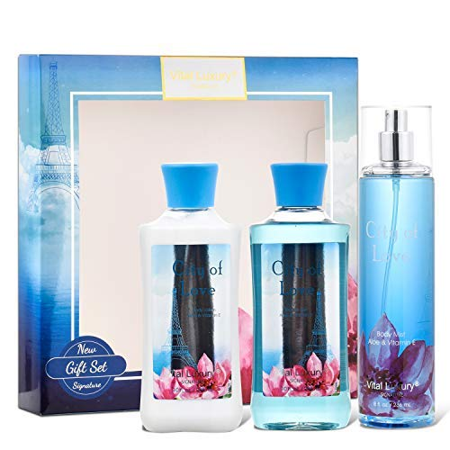 High material Vital Luxury City of Love Popular Bath Care Refre Set Body Gift –
