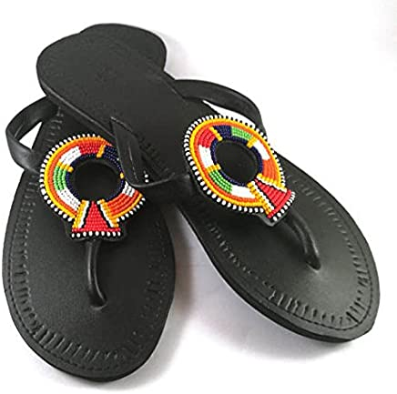 d80cebe13878 Bohemia Women Flat flat flip flop Sandals Summer Beach Shoes
