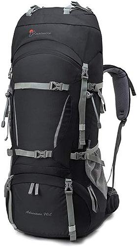 Hengtongtongxun Sac d'alpinisme en Plein air, Sac à Dos. 60L70 Liter 80L Camping Sac à Dos de randonnée pour Hommes et Femmes, Ultra-léger, Grande capacité, Plusieurs Couleurs Porte-Stylo étudiant,