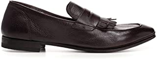 Luxury Fashion | Henderson Baracco Men 694061TMORO Brown Leather Loafers | Season Outlet