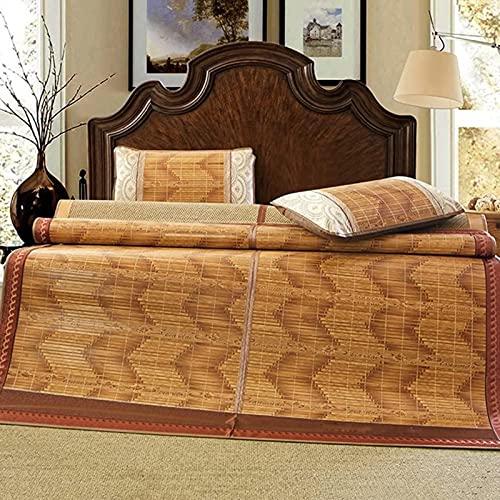 Colchón Fresco, colchoneta de Paja de Ropa de Cama Mats para Dormir de Verano Mats de Cama de Dos Caras Doble de Doble Cara Dormitorio