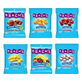 Brach's Sugar Free Candy, Hard Candy, 6 Pack Assortment, 21 oz Total., Butter Scotch, Cinnamon, Lemon Drops, Mixed Fruit, Peppermint, Root Beer