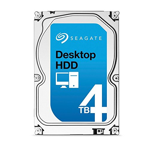 "Seagate Barracuda ST4000DM000 HDD Interno 3,5"" SATA III 5900 RPM 4 TB"
