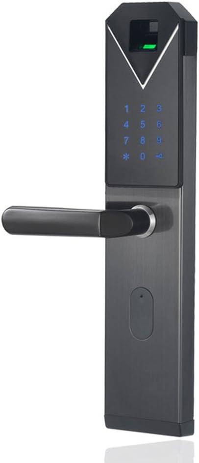 QXX Smart Electronic Door Minneapolis Mall Fingerprint+Password+Card+Key Unl Spring new work Lock