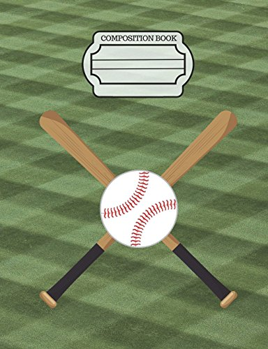 Baseball Sports Fans Journal, Composition Notebook: Wide Ruled Lined Paper, Writing Journal Book, 130 Lined Pages 7.44 x 9.69 School Teachers, Students