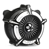 Turbine Spike Air intake system road glide air cleaner road king air filter Fit for harley Touring street Glide 08-16 black